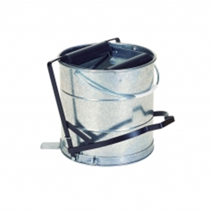 Picture of 10 LITRE METAL GALVANISED BUCKET ROLLER OPERATED- SOLD EACH